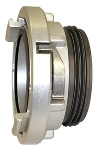 Harrington 4 in. Storz x 4-1/2 in. NST Aluminum Rigid Male Adapter HHSMR4045NH at Pollardwater