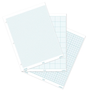 Forrestry Suppliers Inc. 5mm Metric Cross Section Grid Pad PECRR1150 at Pollardwater