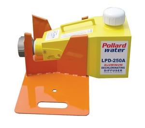 Pollardwater LPD-250 and LPD-250ALUM Dechlorinating Diffusers Hitch and Tire PLPDTIRE