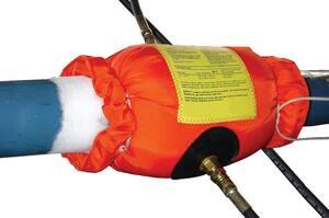 COB Industries Qwik-Freezer™ 3/8 - 6 in. Portable Pipe Single Freeze Kit CQF6000 at Pollardwater