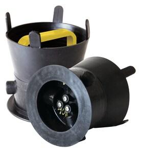 Debris Caps™ 7 DEBRIS Cap With Yellow Handle SDC5X7YL