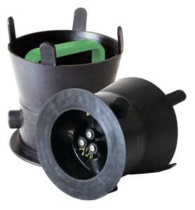 Debris Caps™ 10 DEBRIS Cap With Green Handle SDC100GR at Pollardwater