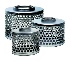 Abbott Rubber Co Inc 2 in. Steel Strainer with Round Hole ASRHS200 at Pollardwater