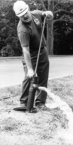 Beckson Industrial Products 36 in. Meter Pit Hand Pump with 72 in. Hose B136PF6 at Pollardwater