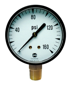 Thuemling Industrial Products 160 psi Pressure Gauge TMO10058 at Pollardwater