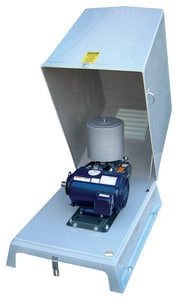 Tri-State Wastewater 5M Class 10 hp 208/230/460V 3-Phase ODP Motor Fiberglass Blower Package T5M10FP at Pollardwater