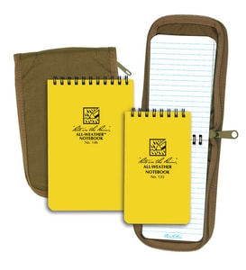 Forrestry Suppliers Inc. 7 in. Field Side Spiral Notebook with Numbered Page PEC353N at Pollardwater