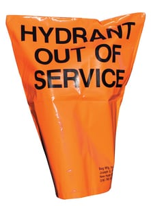 Pollardwater Heavy Duty Hydrant Bag in Black and Orange PP69203 at Pollardwater