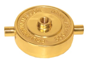 Pollardwater 2-1/2 in. FNST Ecomony Hydrant Cap with 1/4 in. Tap PP67597T at Pollardwater
