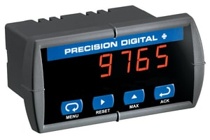 Precision Digital Corporation Trident Standard Display with Controller PPD7656R210 at Pollardwater