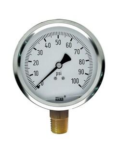 WIKA Bourdon 100 psi Pressure Gauge W50144014 at Pollardwater