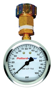 Pollardwater Economy 3/4 in. FGHT Pressure Test Kit with 2-1/2 in. 100 psi Gauge PP67118 at Pollardwater