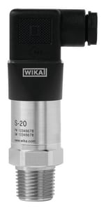 WIKA 25 psi Pressure Transmitter W52376524 at Pollardwater