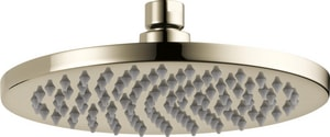 Brizo Odin™ 2 gpm 1-Function Round Ceiling Mount Showerhead D81375ECO