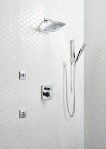 Delta Faucet Ara® Valve Trim with 3-Setting Integrated Diverter in Brilliance Stainless DT27867SS