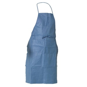 Kimberly Clark Kleenguard® 40 x 28 in. Disposable General Purpose and Work Apron in Blue (Case of 100) KIM36260