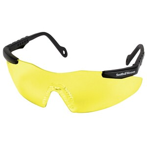 Jackson Safety Magnum Safety Glasses with Black Frame & Yellow Lens K19826