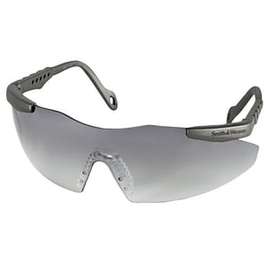 Kimberly Clark Smith & Wesson® Metallic Grey Frame Lens Safety Glasses K19831 at Pollardwater