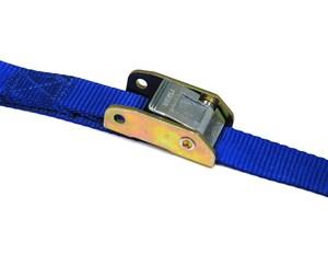 USA Products 15' x 1 Standard Cambuckle, Blue Webbing, S Hks, PDQ U409690