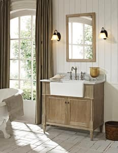 Fairmont Designs Rustic Chic Vanity in Weathered Oak F142FV36