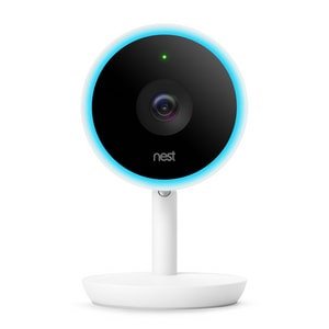 Google Nest Wifi-enabled Indoor Camera in White GNC3100US