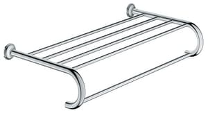 GROHE Essentials Authentic 23 in. Towel Bar in StarLight Chrome G40660001