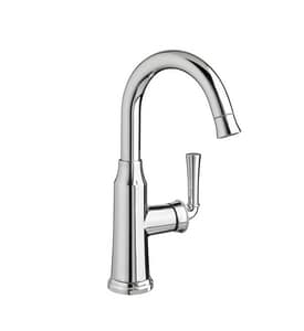American Standard Portsmouth® Single Handle Lever Handle Bar Faucet in Polished Chrome A4285410F15002