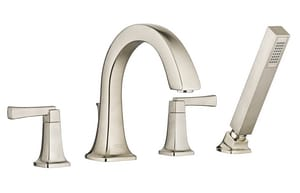 American Standard Townsend® Two Handle Roman Tub Faucet in Brushed Nickel A7353901295