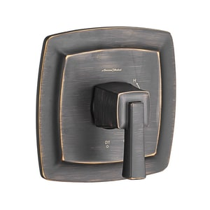 DXV Townsend® 2.5 gpm Pressure Balancing Tub and Shower Valve Trim with Single Lever Handle in Legacy Bronze AT353500278