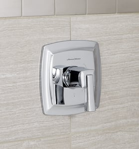American Standard Townsend® Tub and Shower Pressure Balancing Valve with Single Lever Handle in Polished Chrome AT353500002