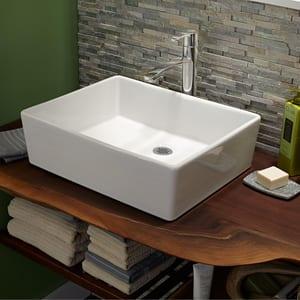 American Standard Berwick® Single Handle Monoblock Bathroom Sink Faucet in Polished Chrome A7430152