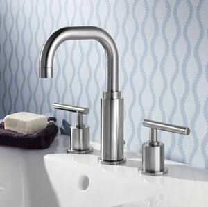 American Standard Serin® 1.2 gpm Double Lever Handle Lavatory Faucet A2064831