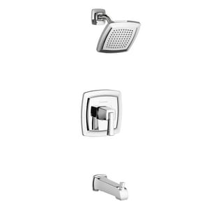 American Standard Townsend® Single Handle Single Function Bathtub & Shower Faucet in Polished Chrome (Trim Only) AT353502002