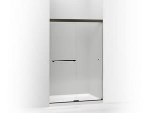 KOHLER Revel™ 76 in. Clear Bypass Shower Door in Anodized Dark Bronze K707106-L-ABZ