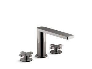 Kohler Composed® Two Handle Roman Tub Faucet in Titanium K73081-3-TT