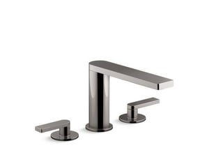 KOHLER Composed® Two Handle Widespread Bathroom Sink Faucet in Vibrant® Titanium K73060-4-TT