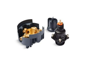 KOHLER Rite-Temp® 1/2 in. F1960 x NPT and Sweat Pressure Balancing Valve K8304-UX-NA
