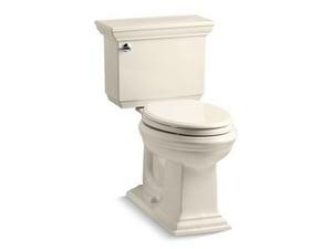 Kohler Memoirs® Stately 1.6 gpf Elongated Two Piece Toilet in Almond KOH3819