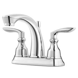 Pfister Avalon™ 3-Hole Centerset Bath Faucet with Double Lever Handle and 5 in. Spout Reach PLG48CB1