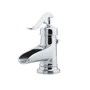 Pfister Ashfield™ Single Handle Centerset Bathroom Sink Faucet in Polished Chrome PLG42YP0C