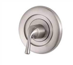 Pfister Tub and Shower Valve Trim Only with Single Lever Handle in Brushed Nickel PR901MSK