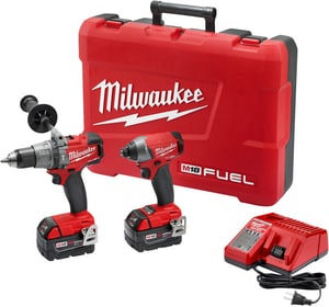 Milwaukee M18 Fuel™ Cordless 18V 2 Tool Kit M289722
