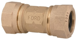 Ford Meter Box 1-1/2 in. Quick Joint Brass Coupling FC44SQNL