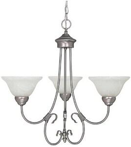 HomePlace by Capital Lighting Hometown 100W 3-Light Medium Incandescent Chandelier C3223220
