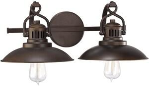 Capital Lighting Fixture O'Neal 100W 2-Light Vanity Fixture in Burnished Bronze C3792BB