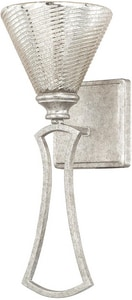 Capital Lighting Fixture Corrigan 100W 1-Light Wall Sconce in Antique Silver C610911AS315