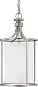 Capital Lighting Fixture Midtown 40 W 2-Light Foyer in Matte Nickel C9047MN478
