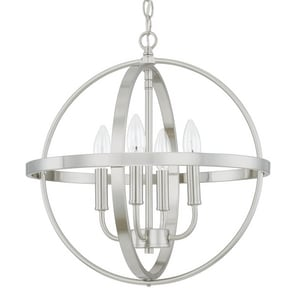 Capital Lighting Fixture HomePlace 4-Light Pendant in Brushed Nickel C317541