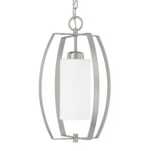 Capital Lighting Fixture HomePlace 1-Light 100W Foyer Light in Brushed Nickel C515911342
