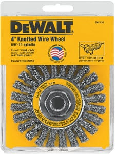 DEWALT 4 in. Twisted Wire Wheel DDW4930 at Pollardwater